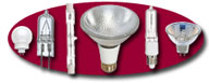 Halogen Lamps Galore, From PAR's, MR's, Double Ended and Specialty Lamps, Click To Enter!