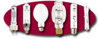 Metal Halide, High Pressure Sodium, Mercury Vapor, and Hard To Find HID Lamps, Click To Enter!