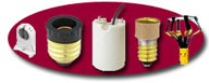 Sockets, Adapters, Reducers, lamp Changers and More, Click To Enter!